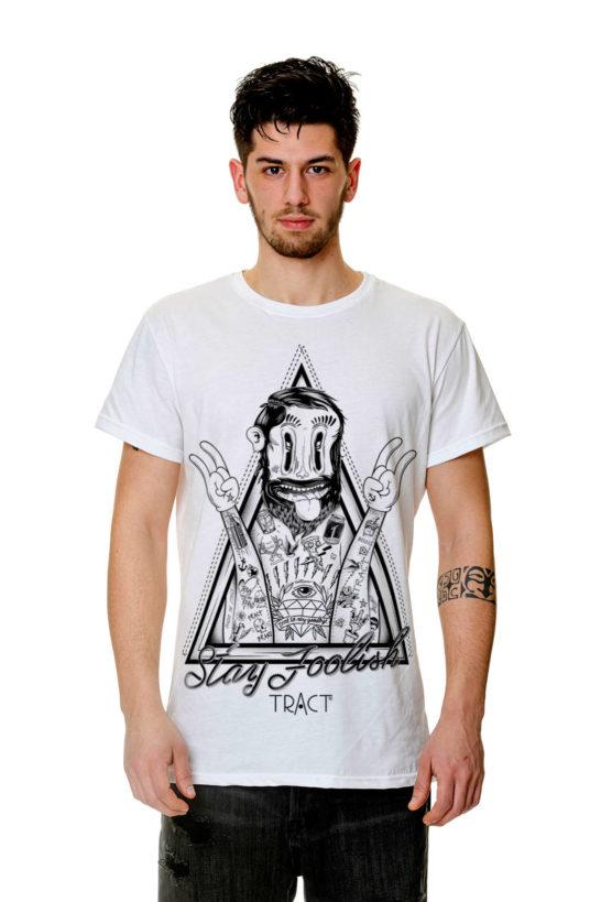 T-Shirt - TR112M - STAY FOOLISH