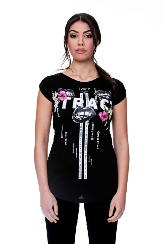Urban Style T-shirt streetwear Made in Italy - #TRACT TR119W