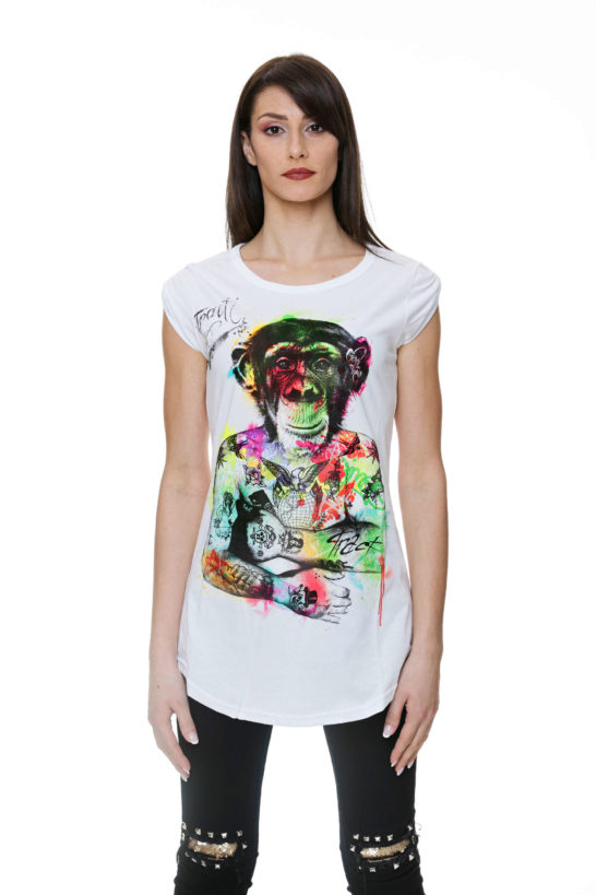 Urban Style T-shirt streetwear Made in Italy - MONKEY BODY TR11AW