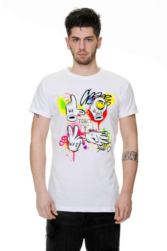 T-Shirt - TR133M - GRAFFITI LOVE