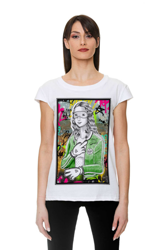 Urban Style T-shirt streetwear Made in Italy - MONNA TR155W