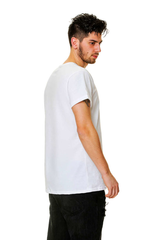 T-Shirt man Cotton Jersey rear