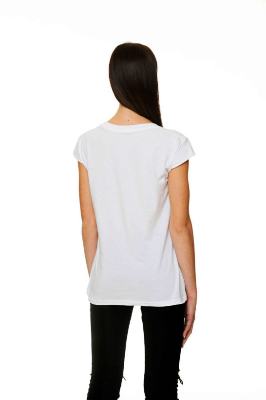 T-Shirt woman Cotton Jersey rear