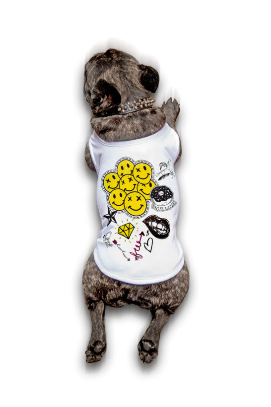 Urban Style T-Shirt Streetwear Made in Italy - Hippie2017 Dog 1