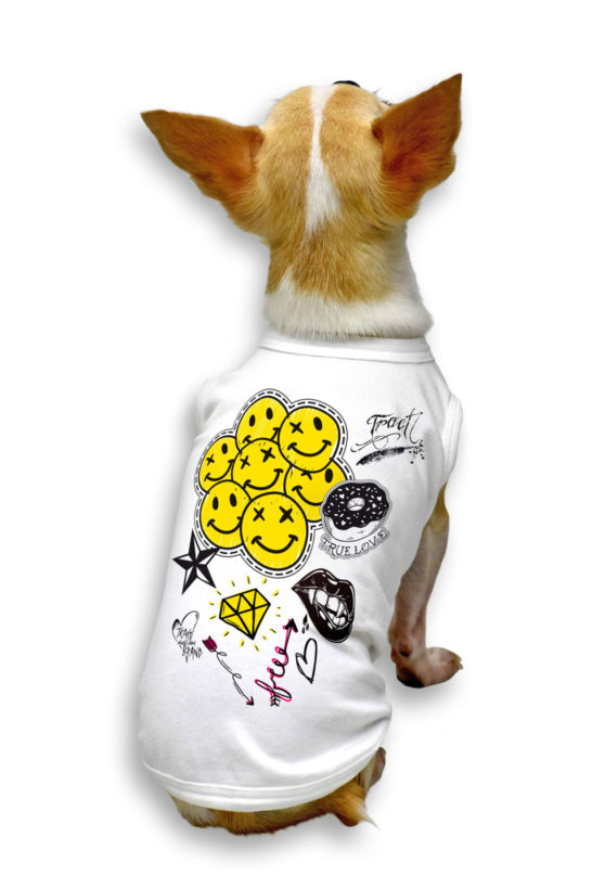 Urban Style T-Shirt Streetwear Made in Italy - Hippie2017 Dog 2