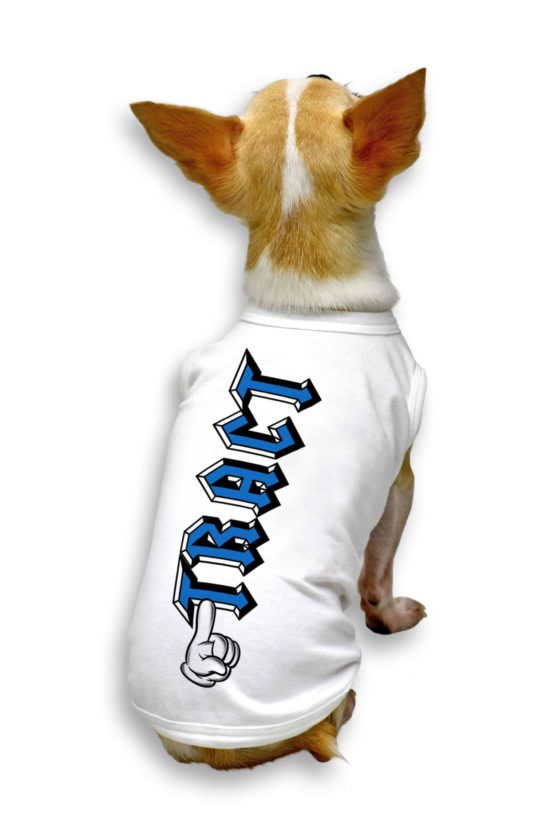 Urban Style T-Shirt Streetwear Made in Italy - Love Tract Dog 2