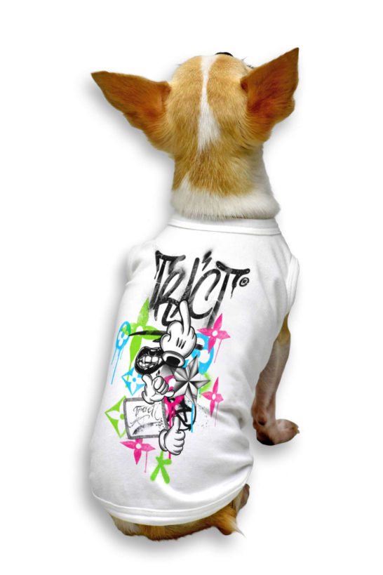 Urban Style T-Shirt Streetwear Made in Italy - Fuck-You Dog 2
