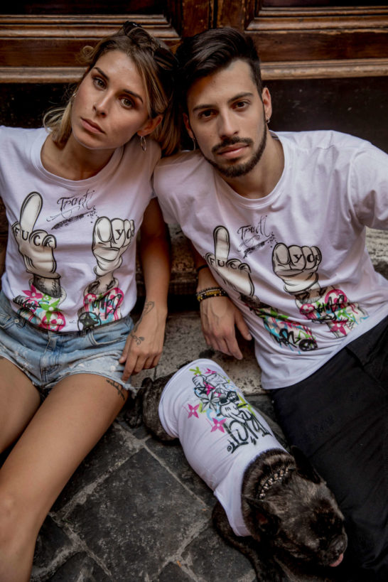 Urban Style T-Shirt Streetwear Made in Italy - Fuck-You Dog 4