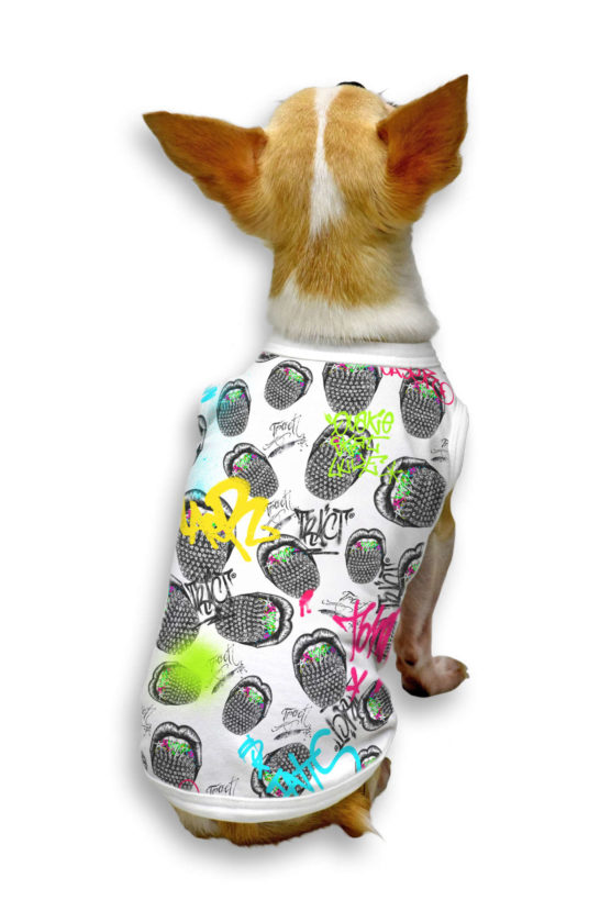 Urban Style T-Shirt Streetwear Made in Italy - Studs Mouth Dog 2
