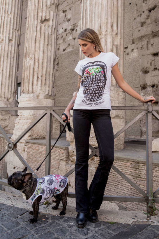Urban Style T-Shirt Streetwear Made in Italy - Studs Mouth Dog 4