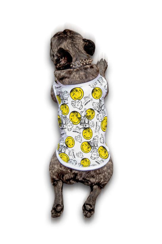 Urban Style T-Shirt Streetwear Made in Italy - Hand Ok Dog 1