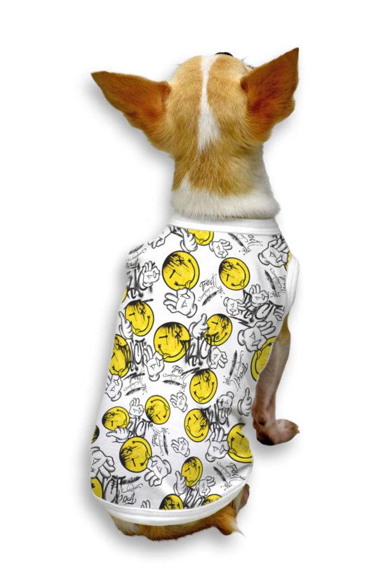 Urban Style T-Shirt Streetwear Made in Italy - Hand Ok Dog 2