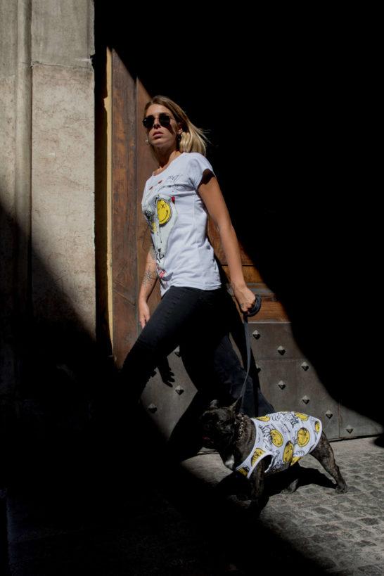 Urban Style T-Shirt Streetwear Made in Italy - Hand Ok Dog 4
