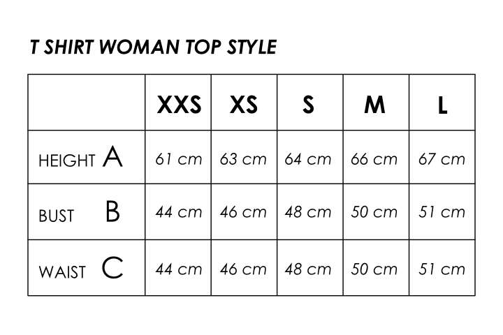 Size info Woman Top Style