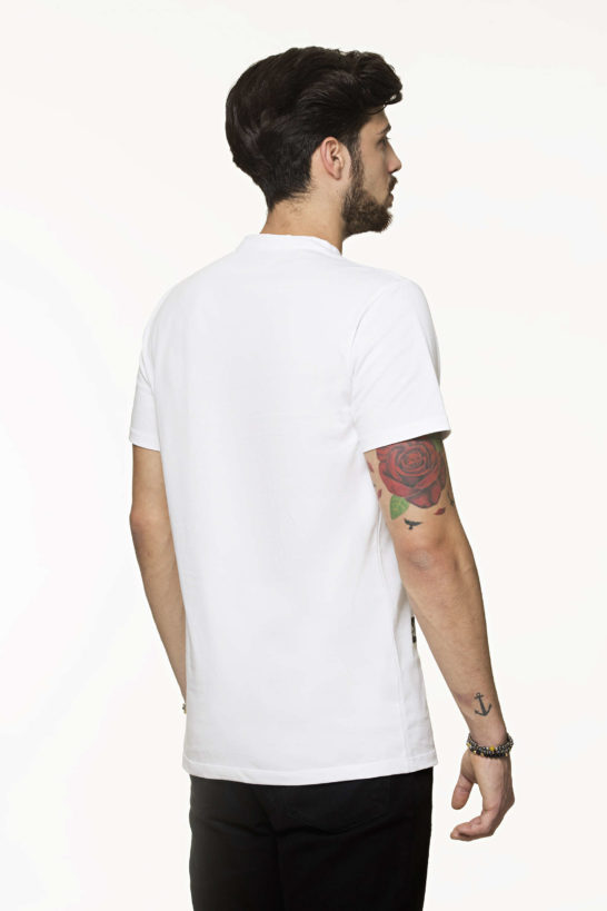 T-shirt Rear Top-Style Man White