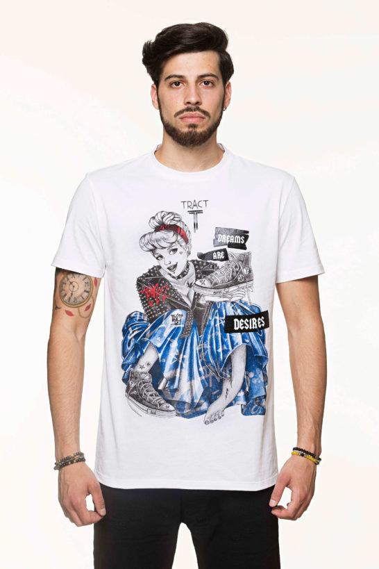 Urban Style T-shirt streetwear - CINDERELLA TRT40AM