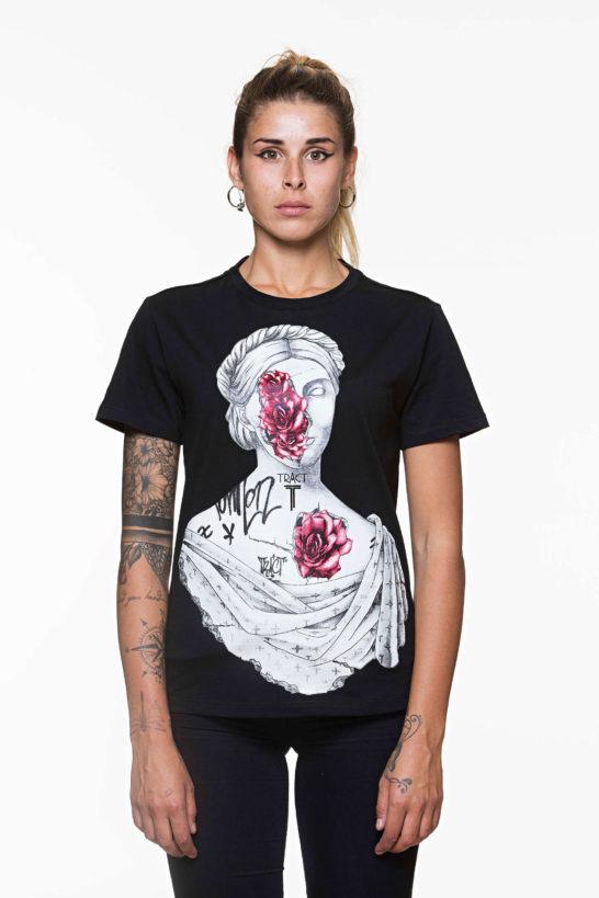 Urban Style T-shirt streetwear - STATUEXX TRT70BW