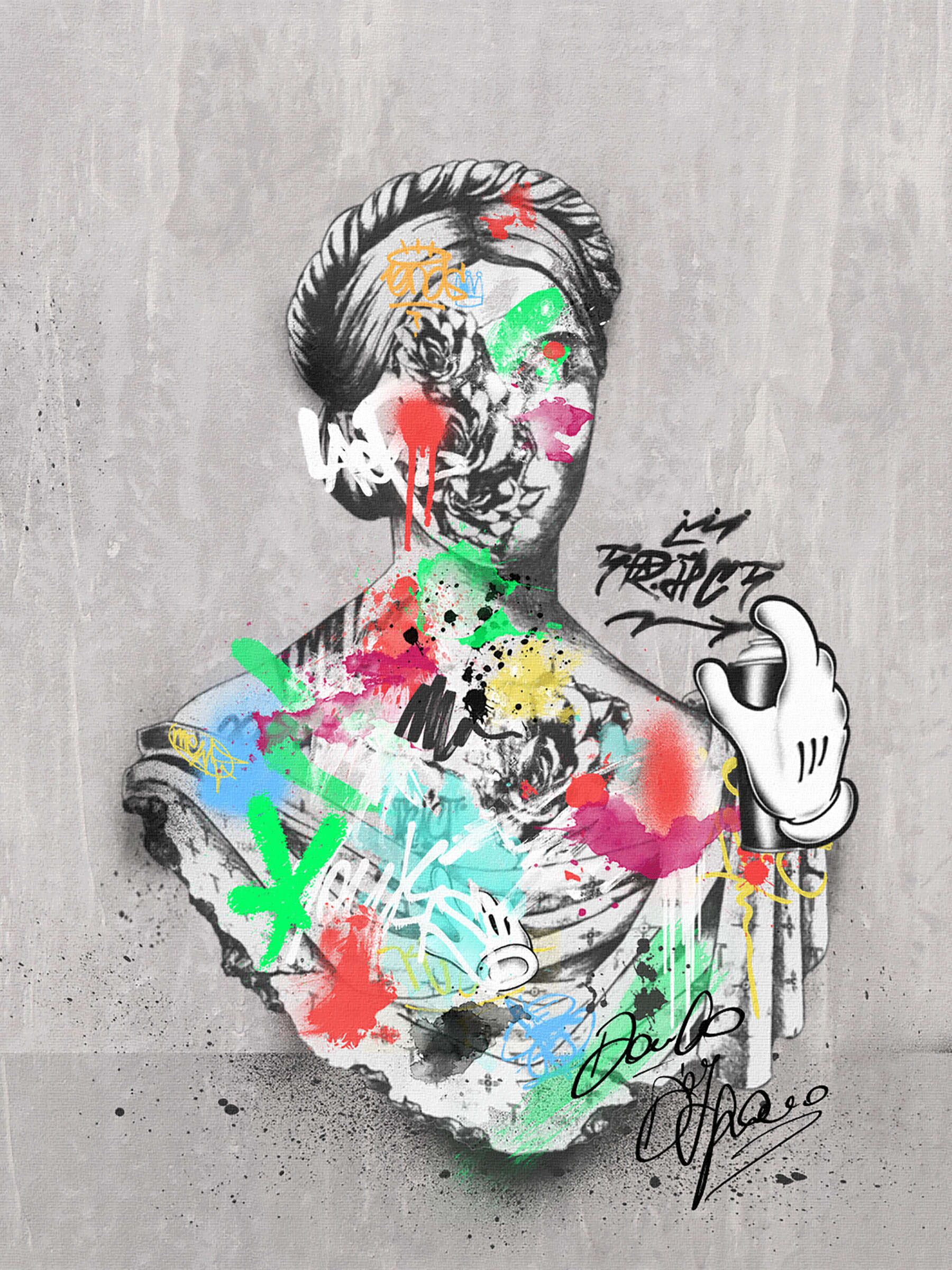 Street Art - Color Your Life
