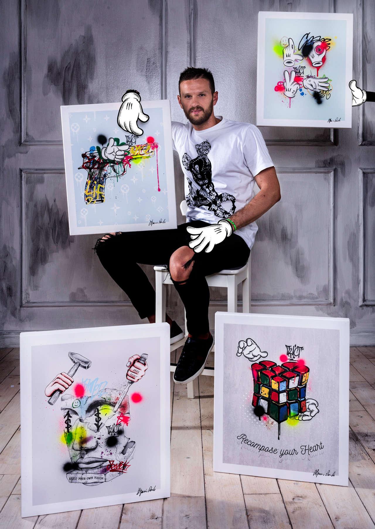 Street Art Danilo D'Ignazio - Mobile