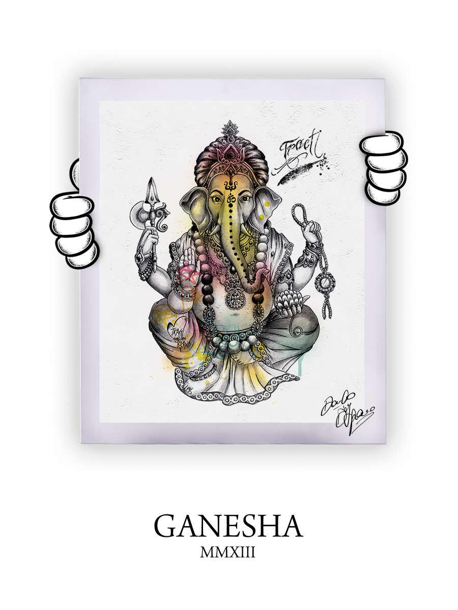 Street Art Ganesha 2013