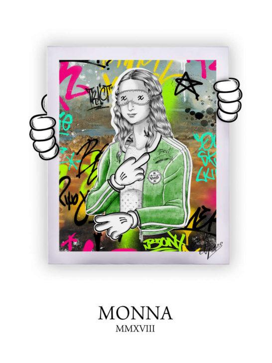 Street Art Monna 2018