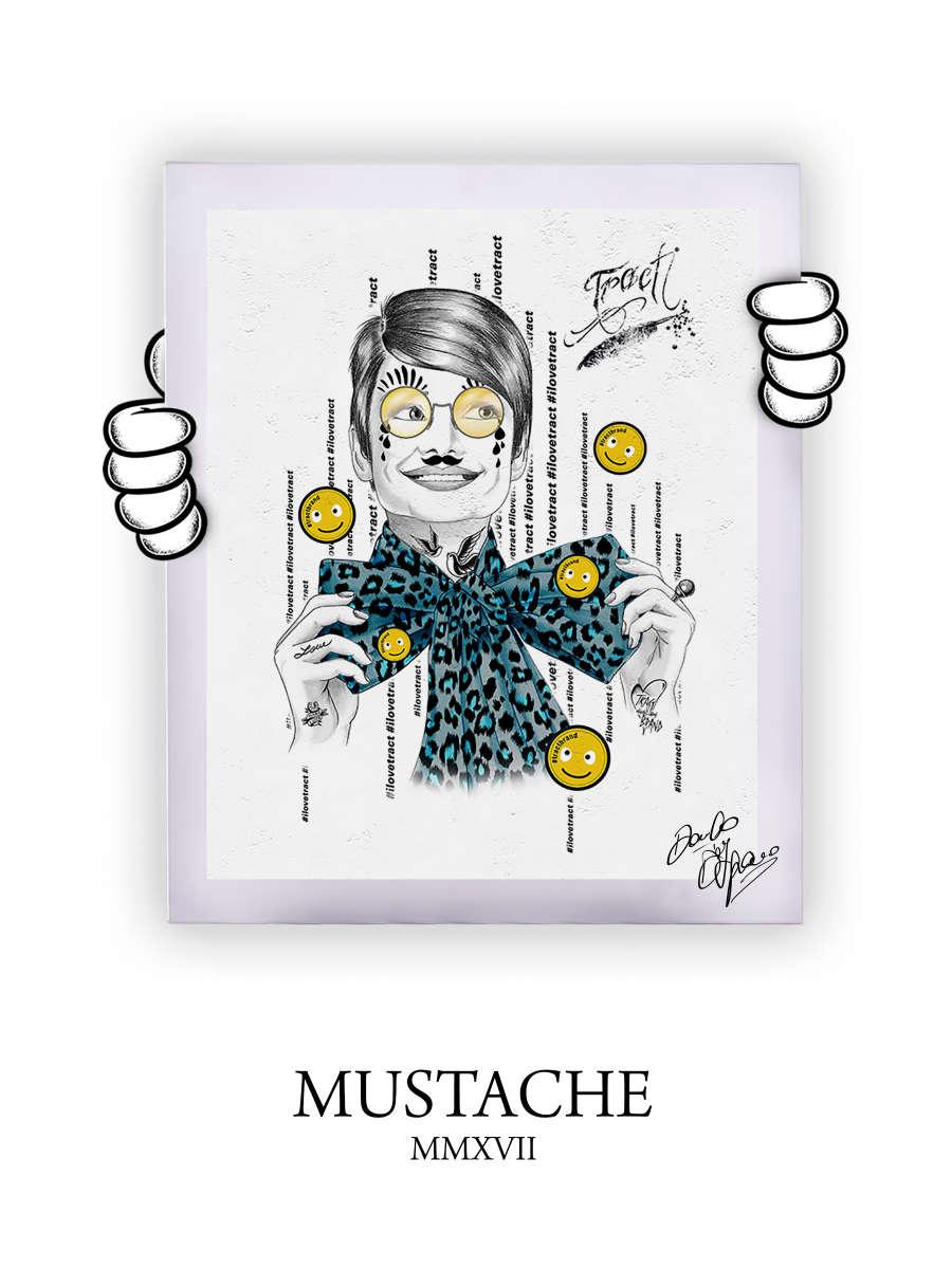 Street Art Mustache 2017