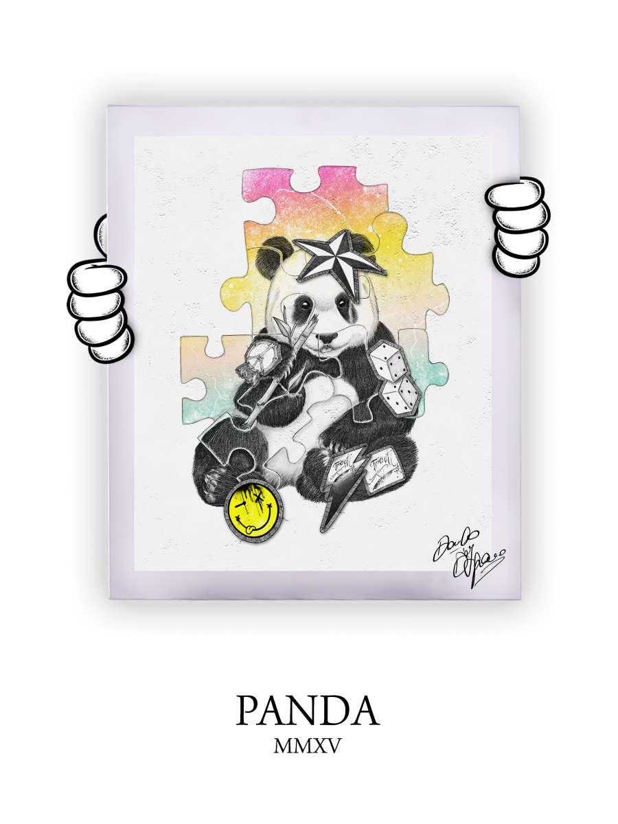 Street Art Panda 2015