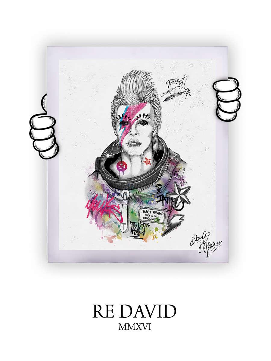 Street Art Re David 2016