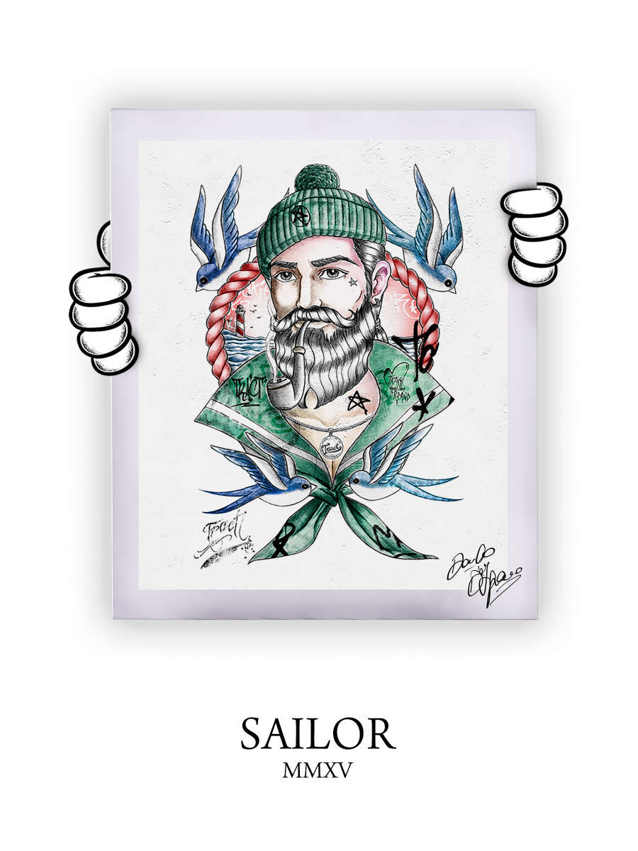 Street Art Sailor 2015