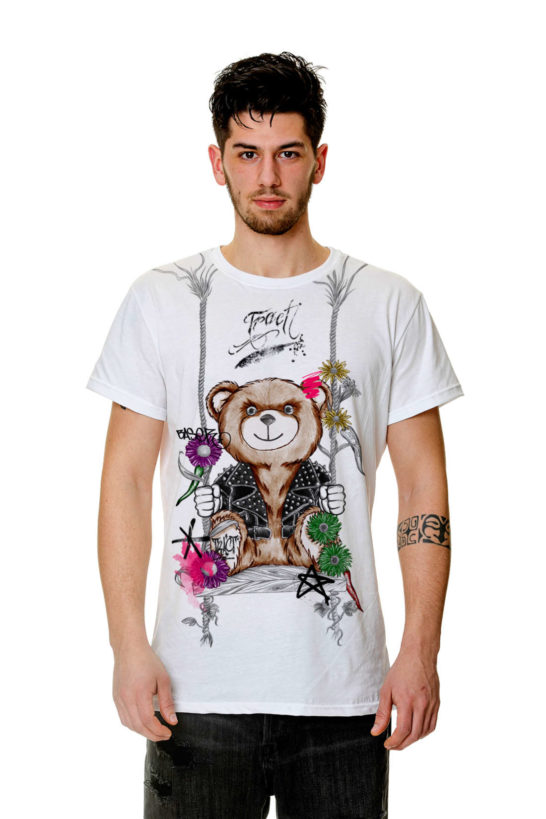 Urban Style T-shirt Streetwear Made in Italy - BEAR TR165M